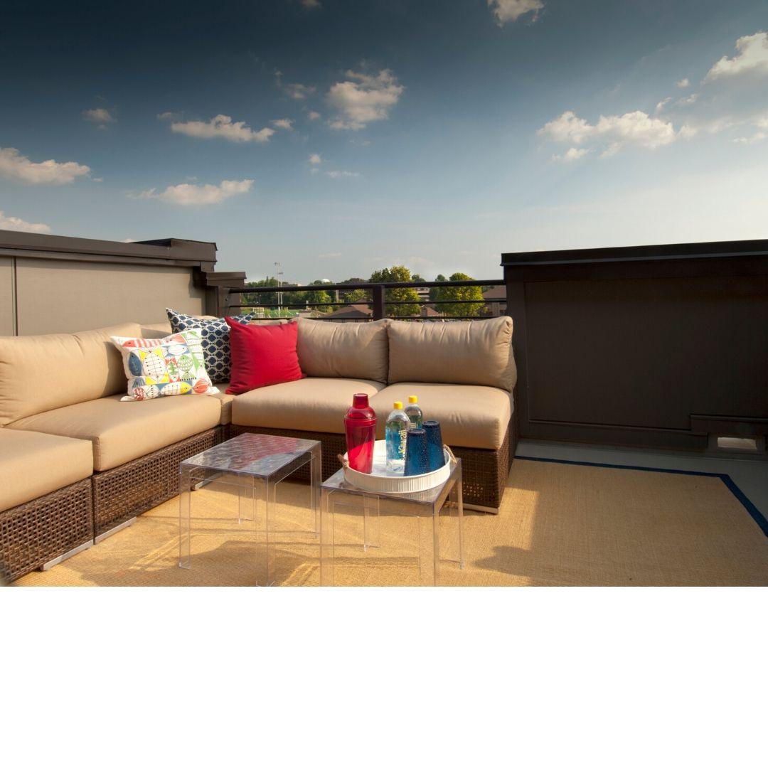 Een terras op mijn plat dak?
